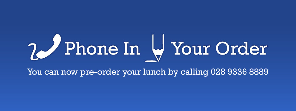 Phone in your order